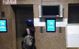 16 người bị nhốt trong thang máy chung cư