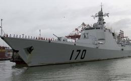 Trung Quốc điều khu trục hạm Lan Châu tập trận ở Biển Đông