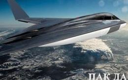 Lộ tầm bắn của tên lửa trên máy bay PAK DA