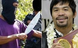 Phiến quân Philippines âm mưu bắt cóc võ sĩ Manny Pacquiao