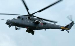 Nga công khai dùng trực thăng Mi-35M tại Syria
