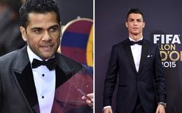 Ronaldo và Dani Alves cãi nhau nảy lửa tại Gala Quả bóng vàng
