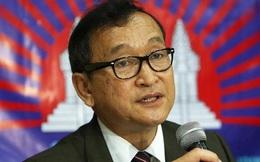 Thủ lĩnh đối lập Sam Rainsy tiếp tục bị Tòa Campuchia phát lệnh triệu tập