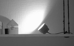 Tự làm đèn bàn bằng giấy các-tông với phong cách... chẳng giống ai