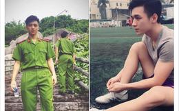 Chàng học viên cảnh sát siêu đẹp trai đang được phái nữ truy lùng trên mạng xã hội