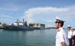 Tàu 381 tới Brunei, chuẩn bị tham gia diễn tập an ninh hàng hải