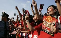 """Man Utd và Man City giành nhau """"miếng bánh ngon"""" Trung Quốc"""