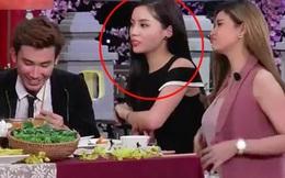 Hoa hậu Kỳ Duyên lộ diện, nổi cáu trên truyền hình