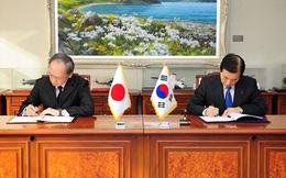 Hàn Quốc, Nhật Bản ký hiệp ước chia sẻ thông tin quân sự