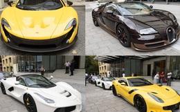 Dàn siêu xe của hội con nhà giàu đại náo đường phố London