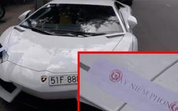 Hồi kết đắng cho siêu xe Lamborghini 26 tỷ đỗ nhầm chỗ
