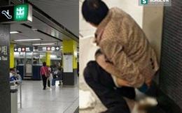 """Những hành vi """"bốc mùi"""" tại ga tàu điện ngầm của người Trung Quốc"""
