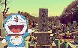 """Cuộc gặp lặng im đầy xúc động với """"cha đẻ"""" Doraemon"""