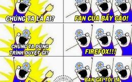 Không dùng Firefox, không phải fan Leicester?