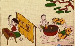 """Tranh Đồng Hồ thời nay khiến nhiều người phải """"cười ra nước mắt"""""""