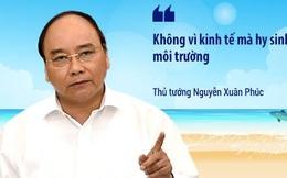 Những phát ngôn quan trọng của lãnh đạo Chính phủ sau khi Formosa nhận trách nhiệm