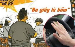 """Hãy hạn chế bấm còi xe đi ra đường, đừng để bị """"ăn vả"""" như người phụ nữ này"""