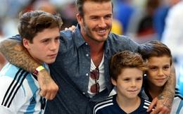 """""""Soi"""" cách dạy con đặc biệt của David Beckham"""