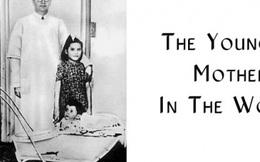 Bà mẹ trẻ nhất thế giới, sinh con khi mới 5 tuổi