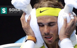 """""""Khủng"""" như Nadal cũng phải """"về nhà"""" ngay trận đầu"""
