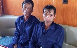 Cứu 2 ngư dân gặp nạn trên biển về đất liền trước Giao thừa
