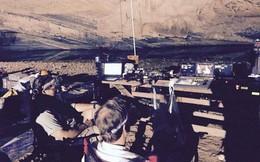 """Đoàn phim """"King Kong 2"""" quay trong hang núi Quảng Bình"""