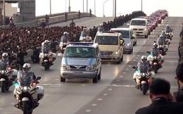 Lễ đón linh cữu cố Quốc vương Thái Lan Bhumibol Adulyadej