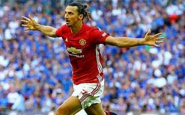 Ibrahimovic nổ súng, Man United giành Siêu cúp nước Anh