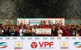HLV Vương Tiến Dũng: 'Viettel xứng đáng lên V.League 2017'