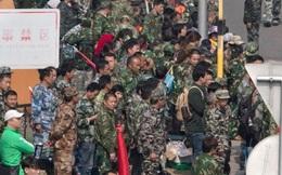 Cựu binh Trung Quốc biểu tình: Sự thách thức với Trung Nam Hải