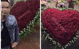 Thiếu gia Hưng Yên gây tranh cãi với màn tỏ tình 1000 bông hồng