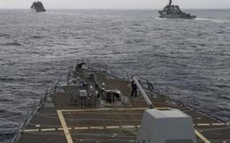 """Hạm đội 3 Hải quân Mỹ lần đầu tuần tra Hoàng Sa: Hai hạm đội Mỹ """"bao sân"""" châu Á"""