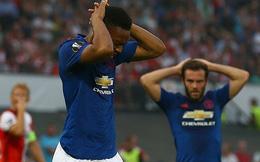 Mourinho hết phép, Man United thua muối mặt tại Europa League
