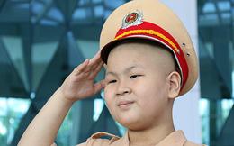 Cậu bé ung thư Đà Nẵng ước mơ làm CSGT qua đời
