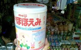 Cảnh báo sữa Meiji nhập khẩu ở Việt Nam không đạt chuẩn