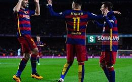 """Thực hiện penalty siêu """"dị"""", Messi hủy nhanh diệt gọn Celta Vigo"""