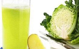 Muốn chữa đau dạ dày, mỗi ngày chịu khó uống 1 cốc nước ép này