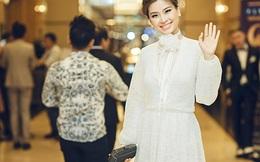 Á hậu Diễm Trang che giấu bụng bầu 4 tháng