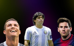 "Maradona khiến cả Messi lẫn Ronaldo ""giật mình"""