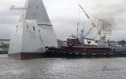 """[ẢNH] Siêu tàu khu trục Mỹ trước ngày """"nhập ngũ"""""""