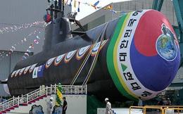 Tập đoàn Hyundai Hàn Quốc hạ thủy tàu ngầm tên lửa Son Won II