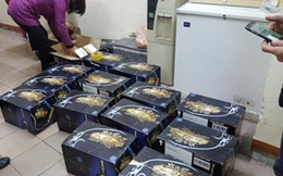 Phát hiện nhiều thùng rượu Chivas 21 nhập lậu từ Trung Quốc