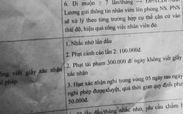 1.001 cách phạt tiền oái oăm mà sinh viên nên hiểu rõ khi đi làm thêm