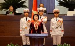 """Bà Nguyễn Thị Kim Ngân: """"Tôi luôn khắc ghi lời tuyên thệ"""""""