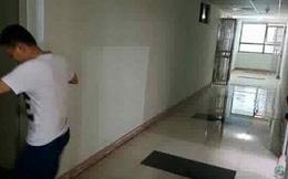 Thảm cảnh chung cư: Nước phun từ thang máy vào phòng ngủ tầng 21