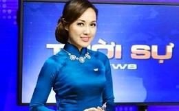Chết cười với sự cố trên sóng trực tiếp của MC Hoài Anh, Tú Anh