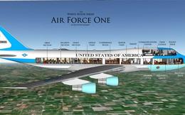 Hé lộ chi phí chế tạo Không lực 1 mới cho Tổng thống Trump