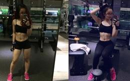 Bị người yêu đá, cô nàng 'tròn như quả bóng' giảm 14kg trong 3 tháng