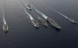 """Hai hạm đội Mỹ hợp lực thiết lập """"địa ngục"""" trước """"cửa nhà"""" Trung Quốc"""