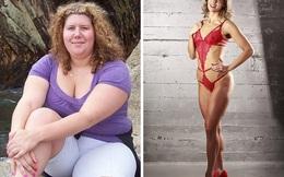 Nặng hơn 100kg, giảm cân thần kỳ thành người mẫu bikini